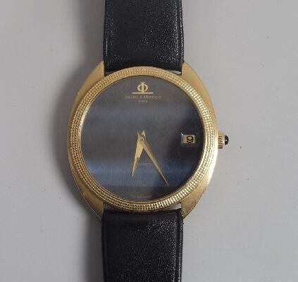 1001: BAUME & MERCIER - gentlemans gold autom