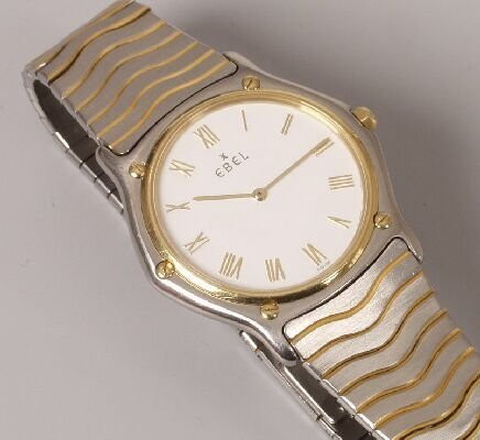 1018: EBEL - a gentleman's recent bi colour S