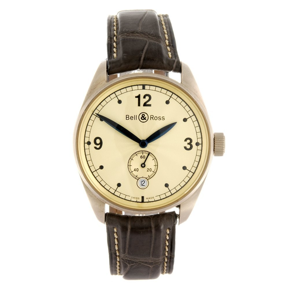 (531643-5-A) An 18k grey gold automatic gentleman's