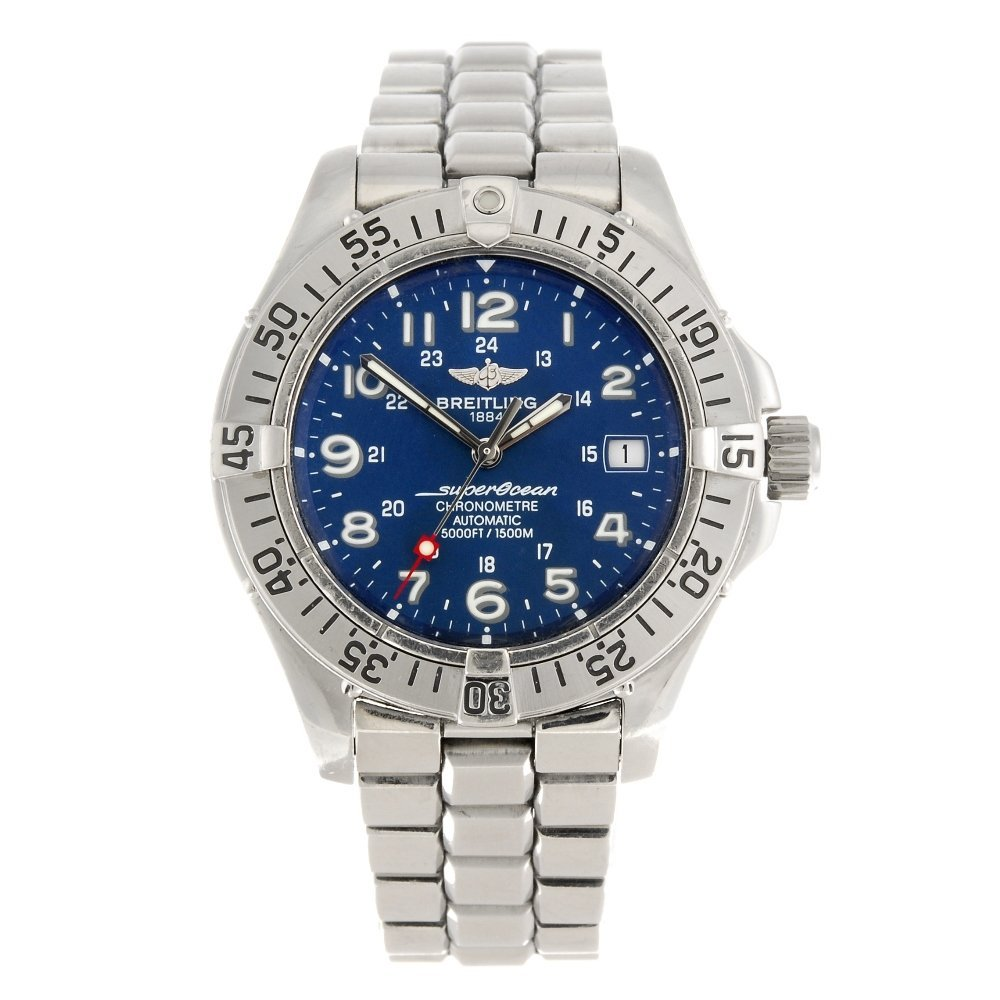 (065518) A stainless steel automatic gentleman's