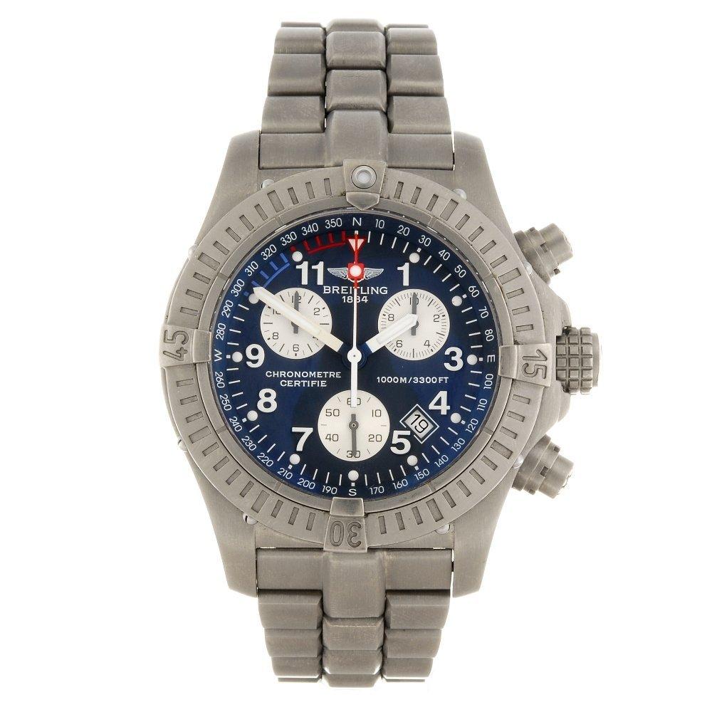 (907007188) A titanium automatic chronograph