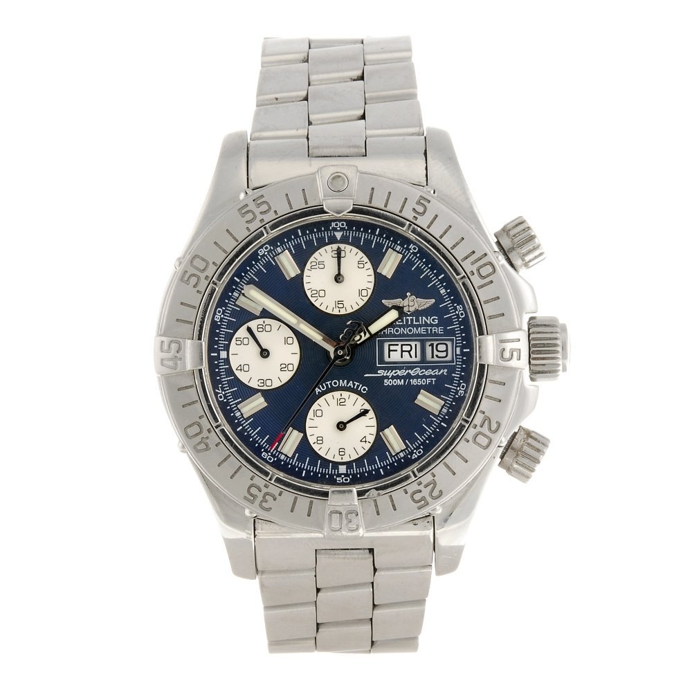 (948001443) A stainless steel automatic gentleman's