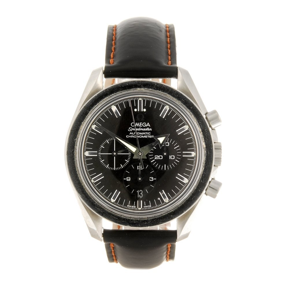 (1061025386) A stainless steel automatic gentleman's