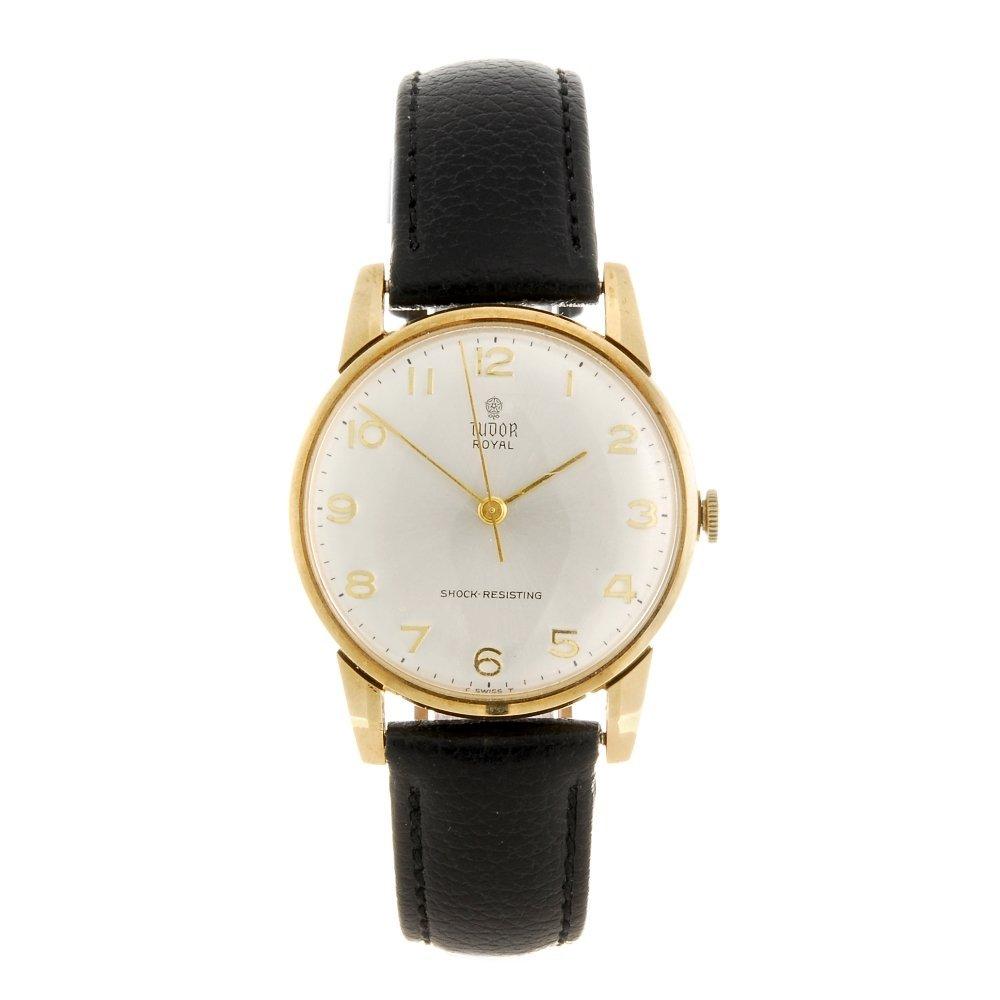 (064753) A 9ct gold manual wind gentleman's Tudor wrist