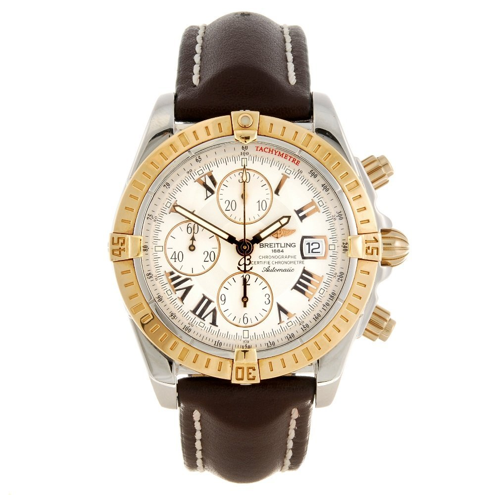 (708009092) A bi-metal automatic chronograph gentleman'