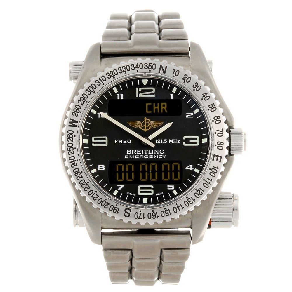 (0307922) A gentleman's Breitling Professional Series E