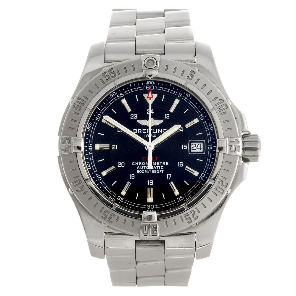 (973018333) A stainless steel automatic gentleman's Bre