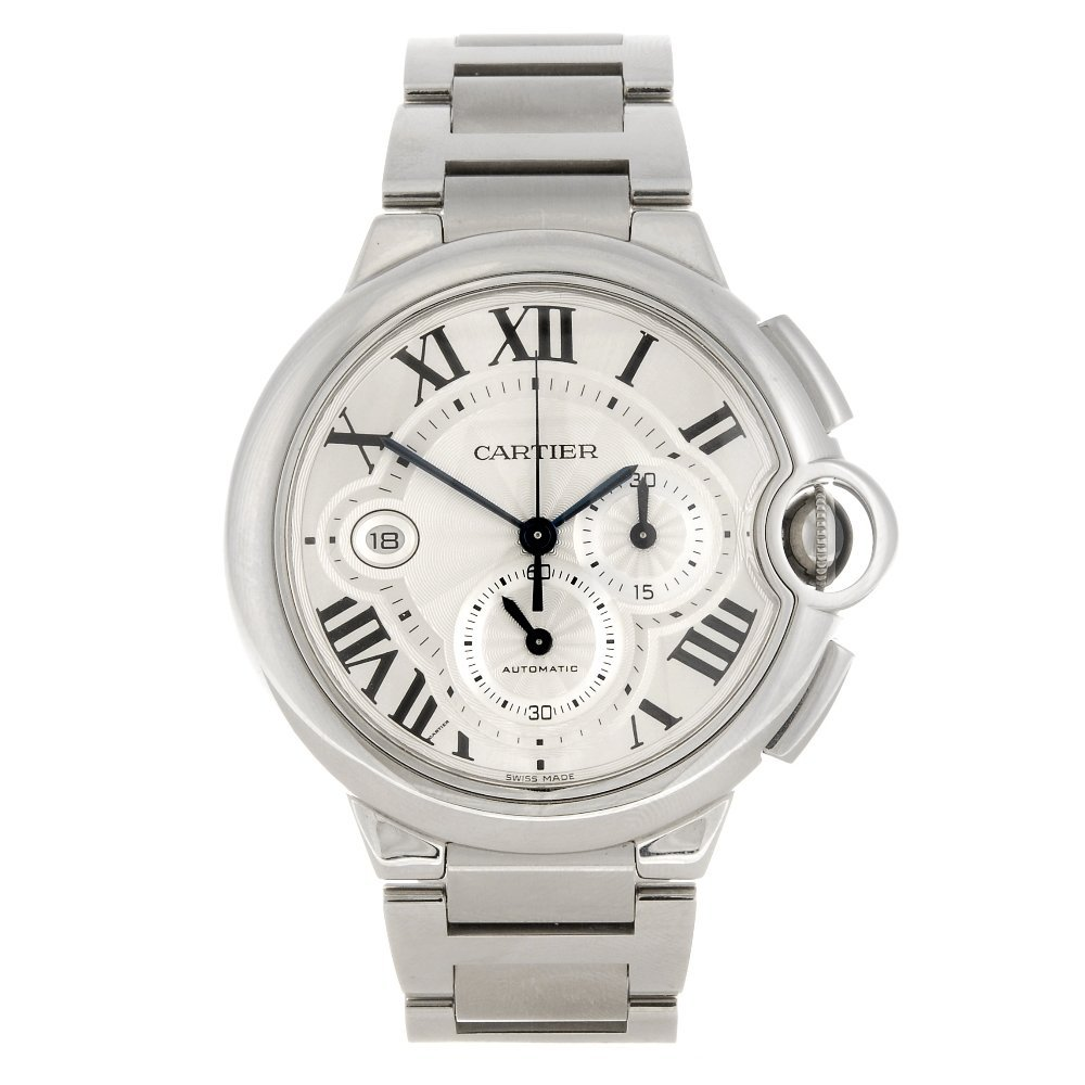 (956000850) A stainless steel automatic chronograph Car