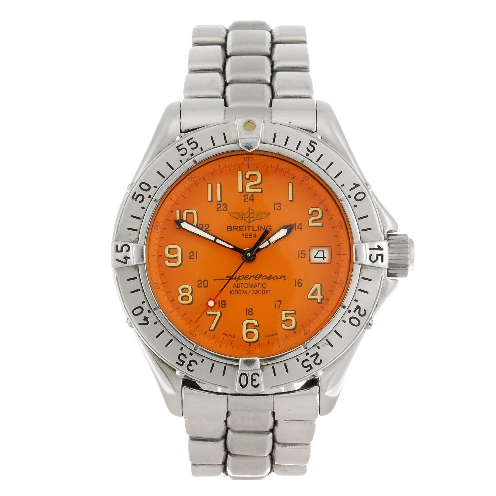 (409024293) A stainless steel automatic gentleman's Bre