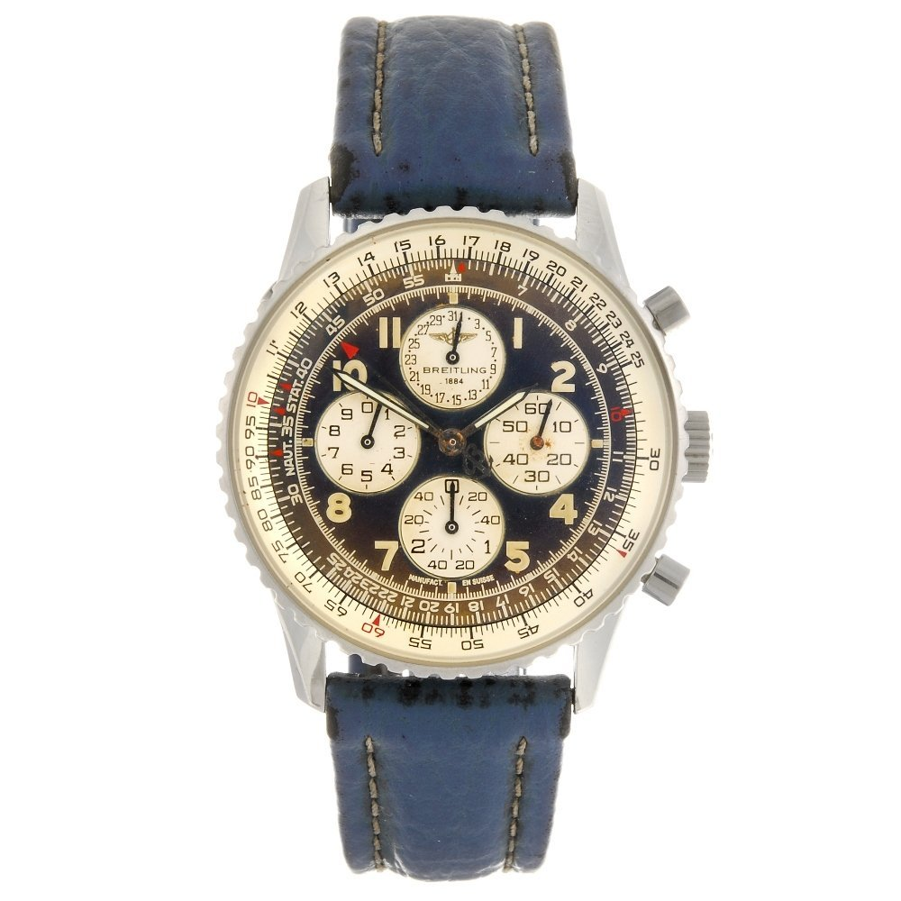 (122166) A stainless steel automatic chronograph Breitl