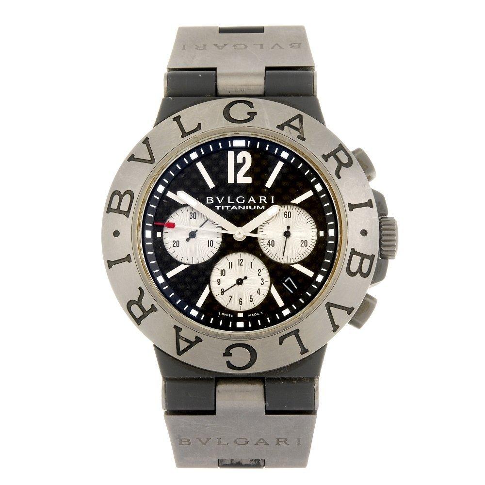 (124792) A titanium automatic chronograph gentleman's B