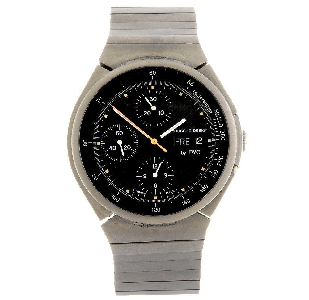 (118651) A titanium automatic chronograph gentleman's I