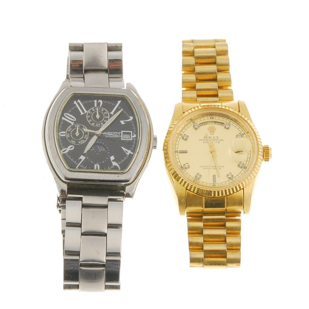 A mixed bag of 20 watches and watch heads, recommended