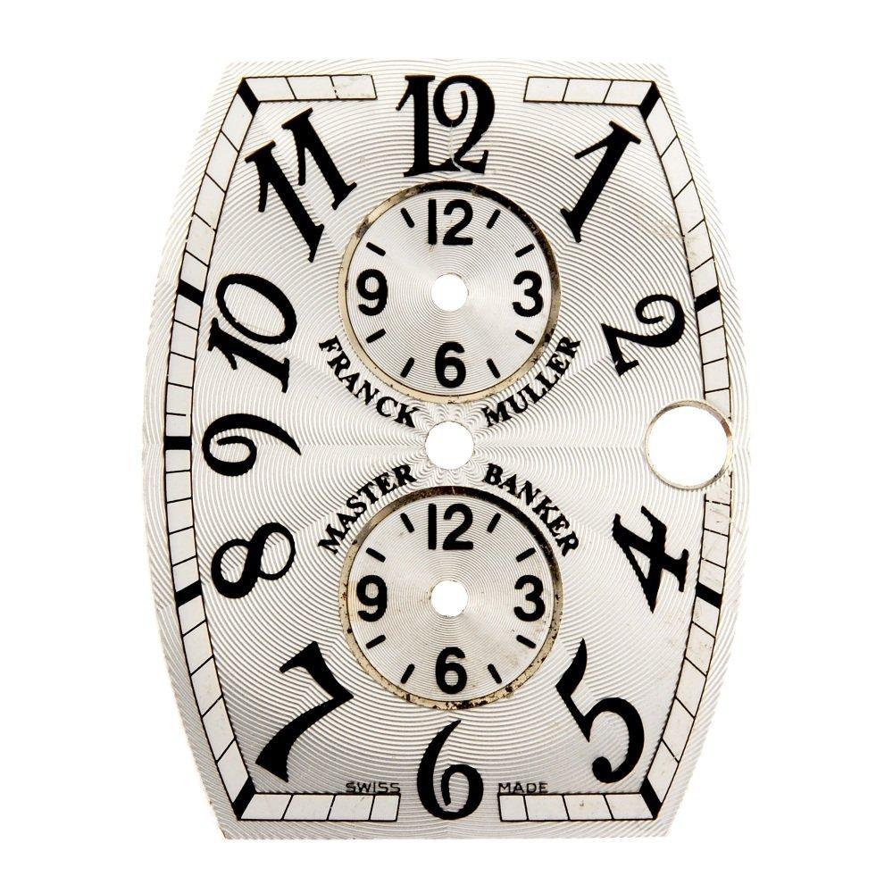 A Franck Muller dial.
