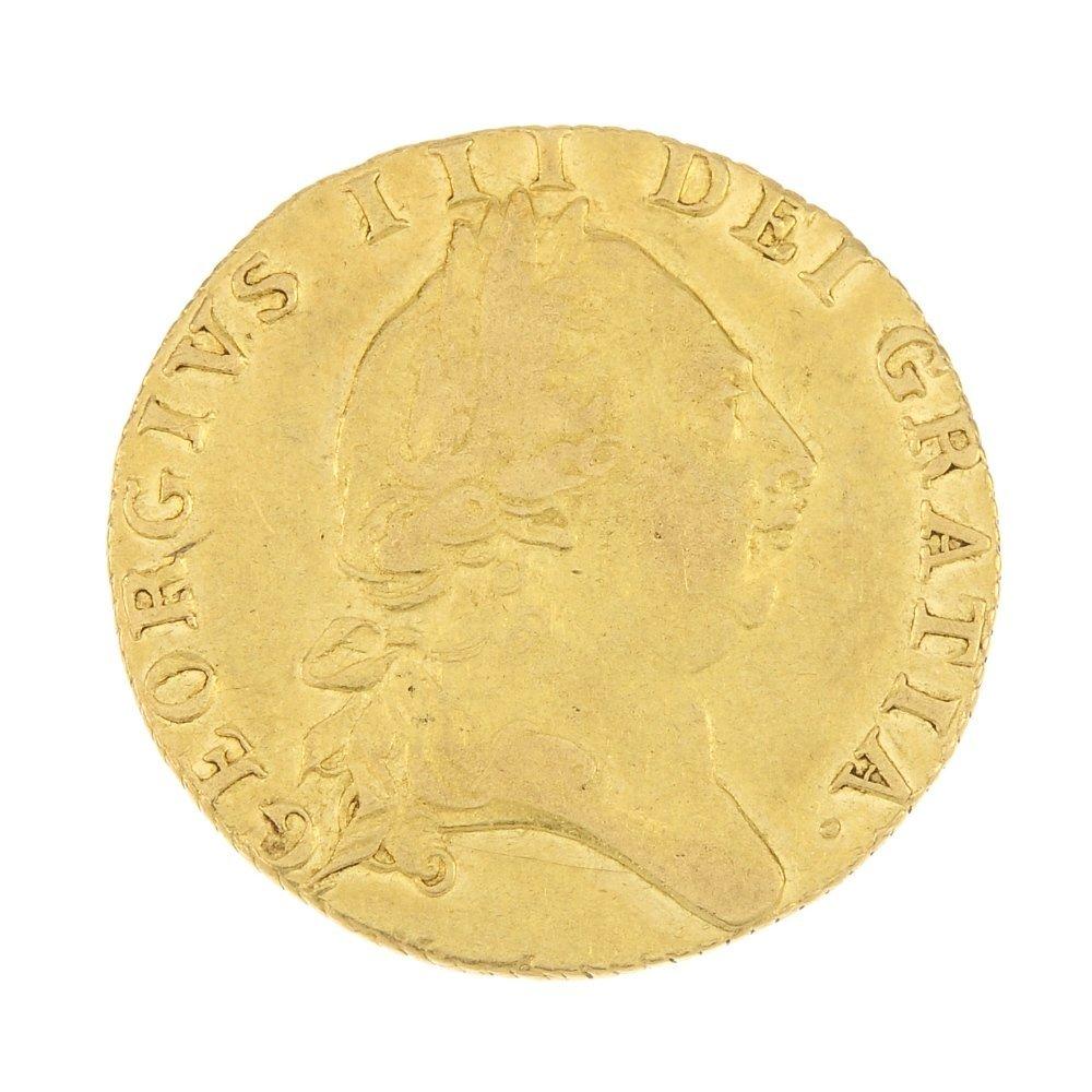 George III, gold Guinea 1788.