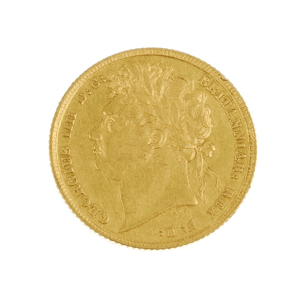 George IV, Sovereign 1842
