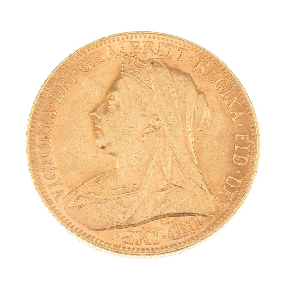 Victoria, Sovereign 1901M.