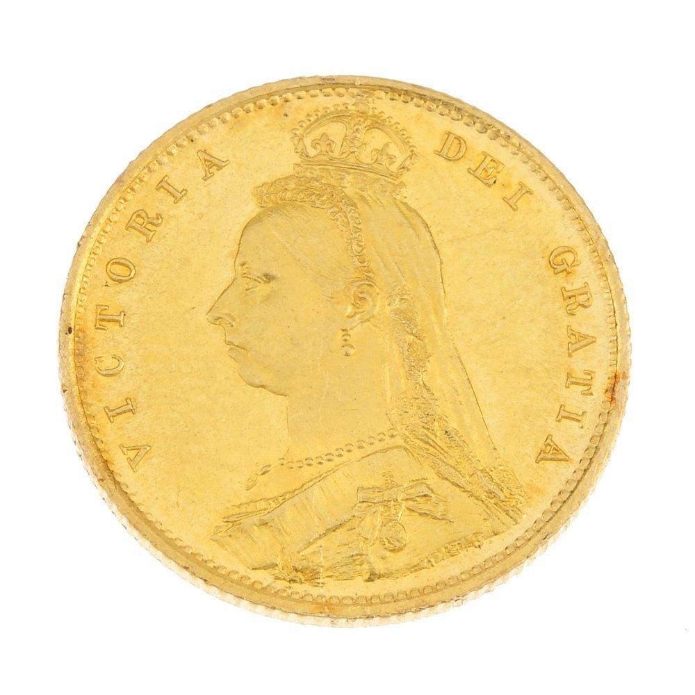 Victoria, proof Half-Sovereign 1887.