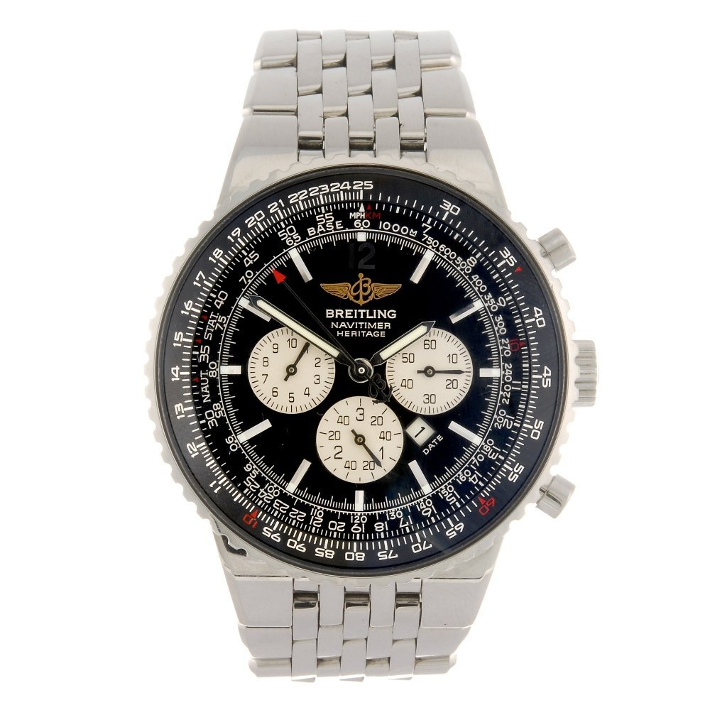 (501035546) A stainless steel automatic chronograph
