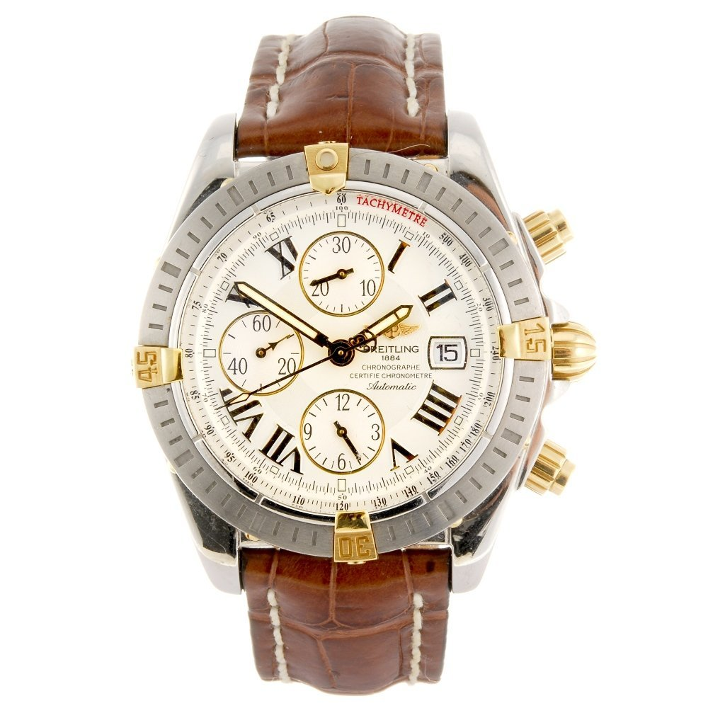 (307090961) A bi-metal automatic chronograph