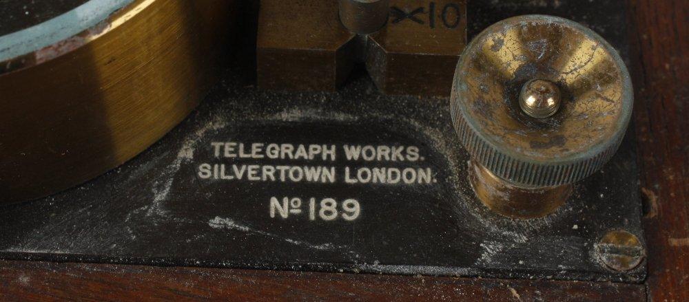 A Telegraph Works Silvertown London, No. 189, - 2