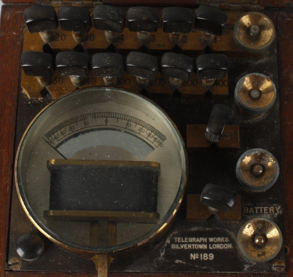 A Telegraph Works Silvertown London, No. 189, - 3