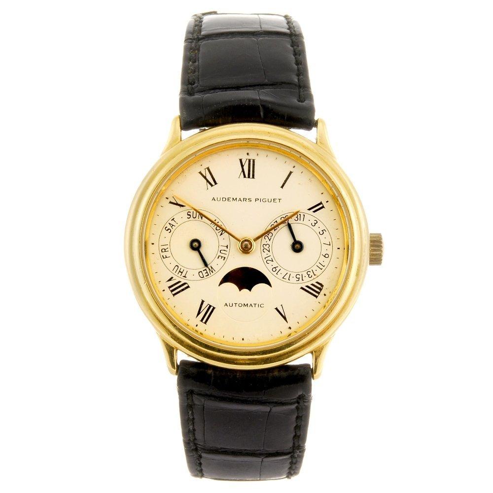 (127250) An 18k gold automatic gentleman's Audemars