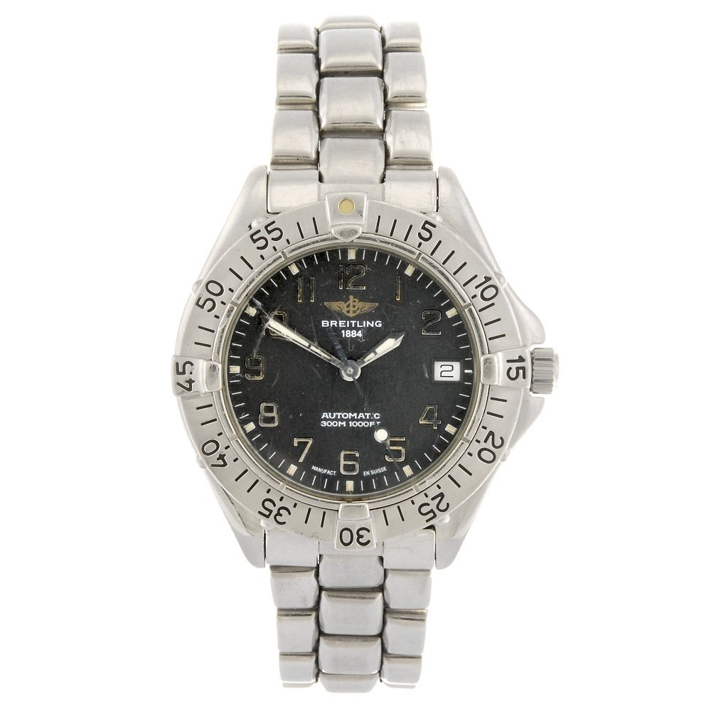 A stainless steel automatic gentleman's Breitling Colt