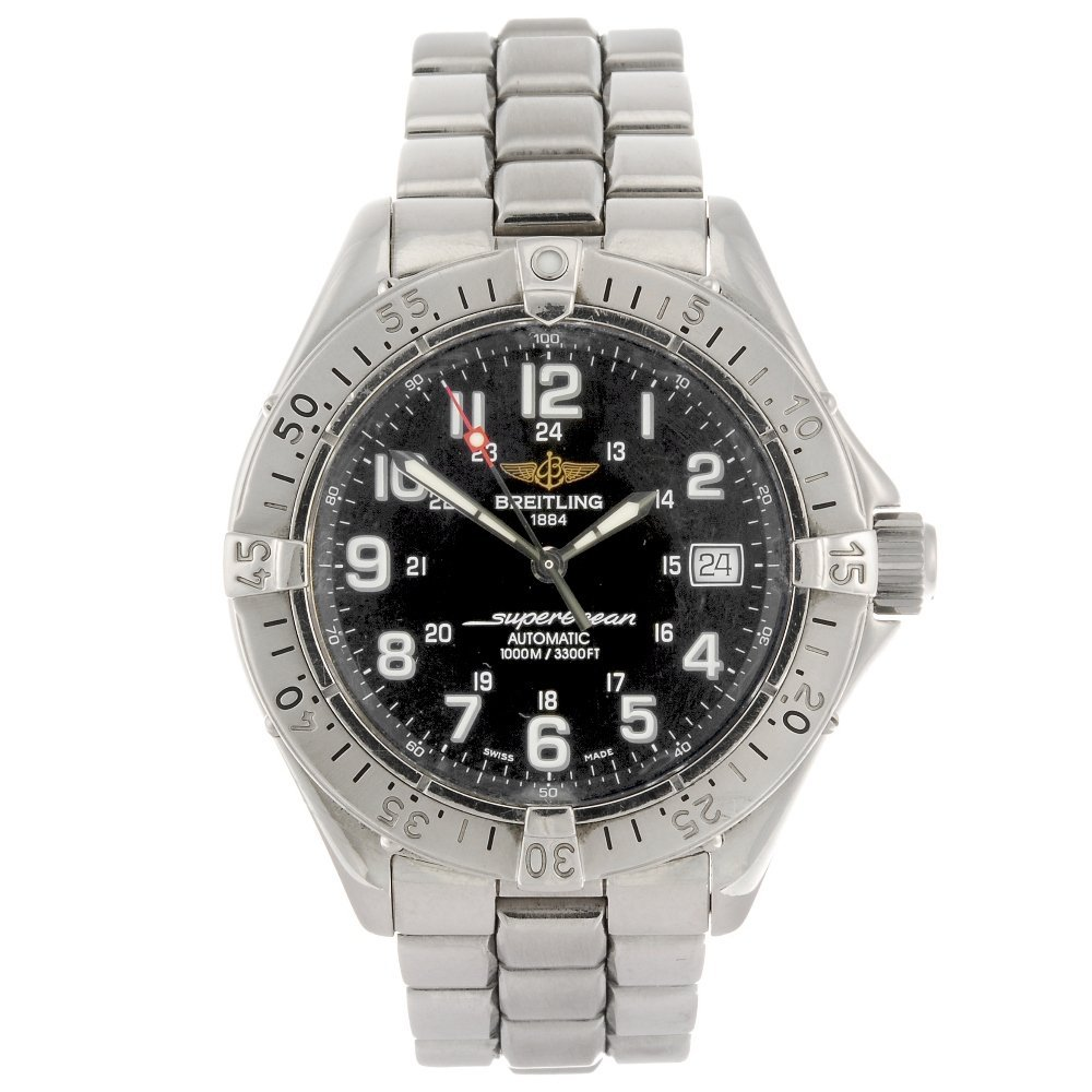 (916005789) A stainless steel automatic gentleman's