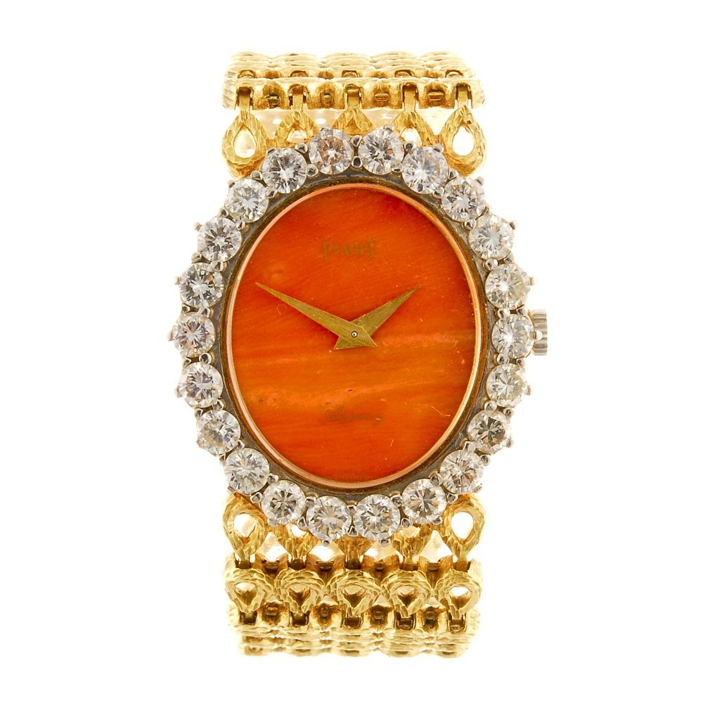 (0037665) An 18k gold manual wind lady's Piaget