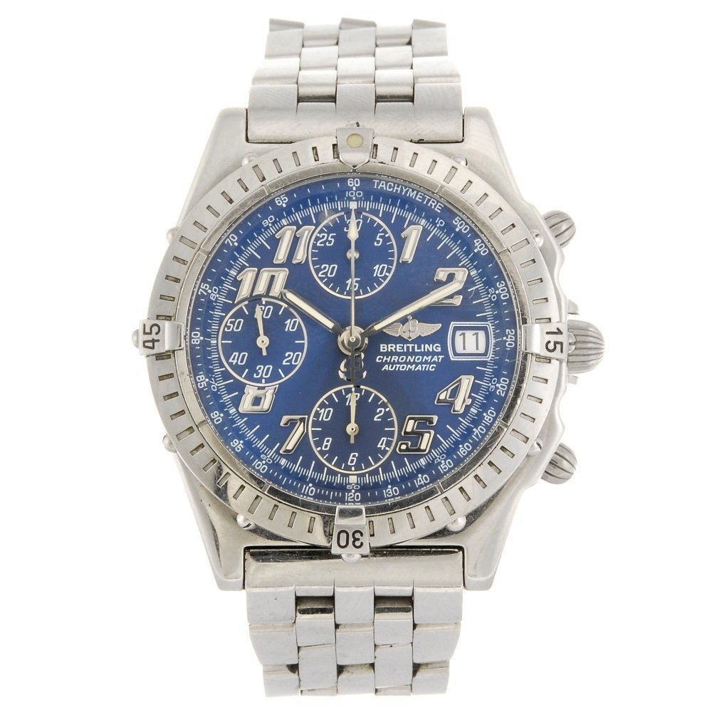 (127779) A stainless steel automatic Breitling