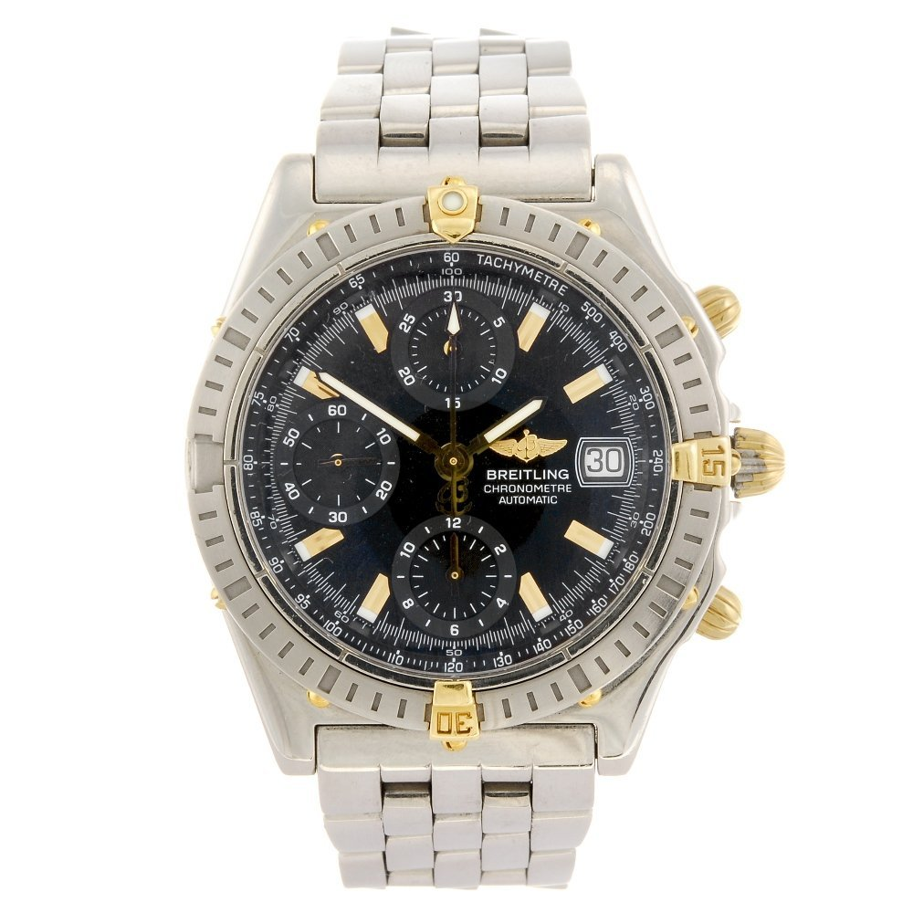 (307096008) A stainless steel automatic chronograph