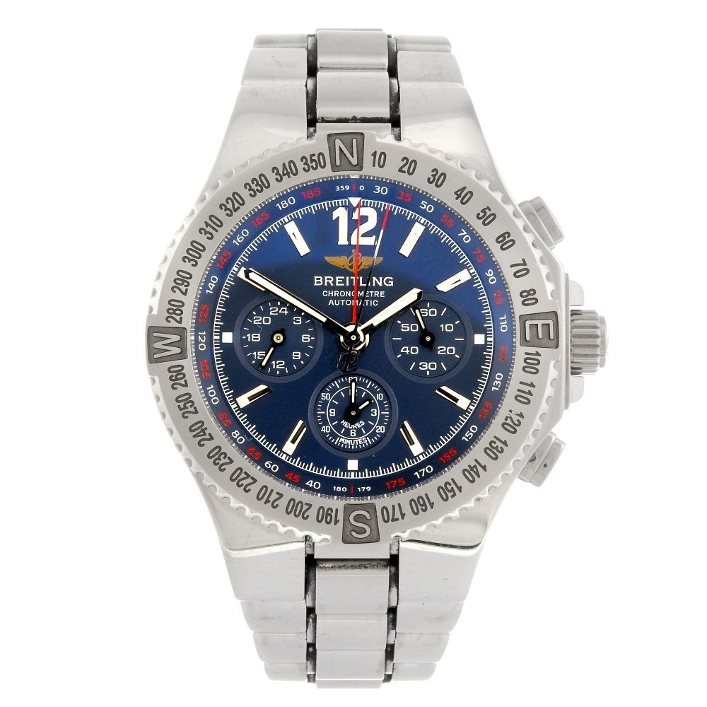 (968001141) A stainless steel automatic chronongraph