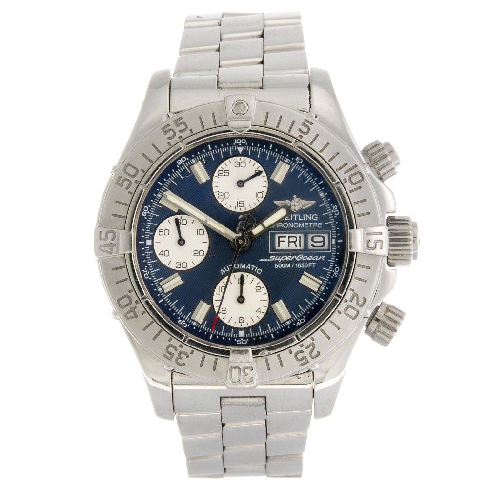 (948001443) A stainless steel automatic chronograph