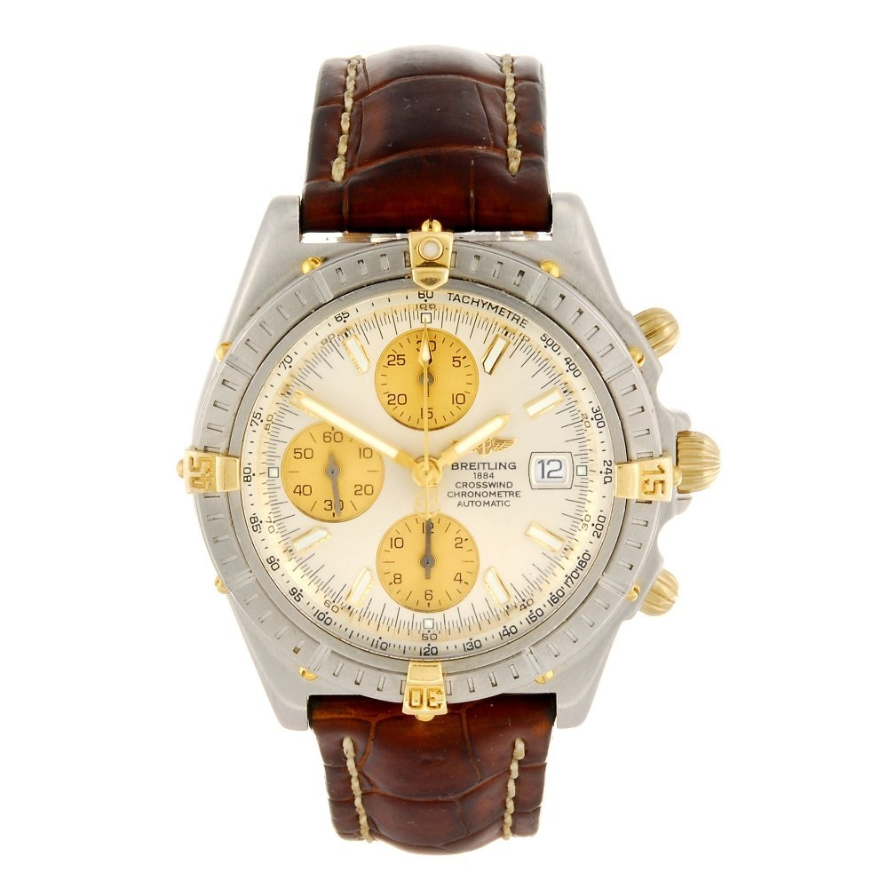 (805007110) A stainless steel automatic chronograph