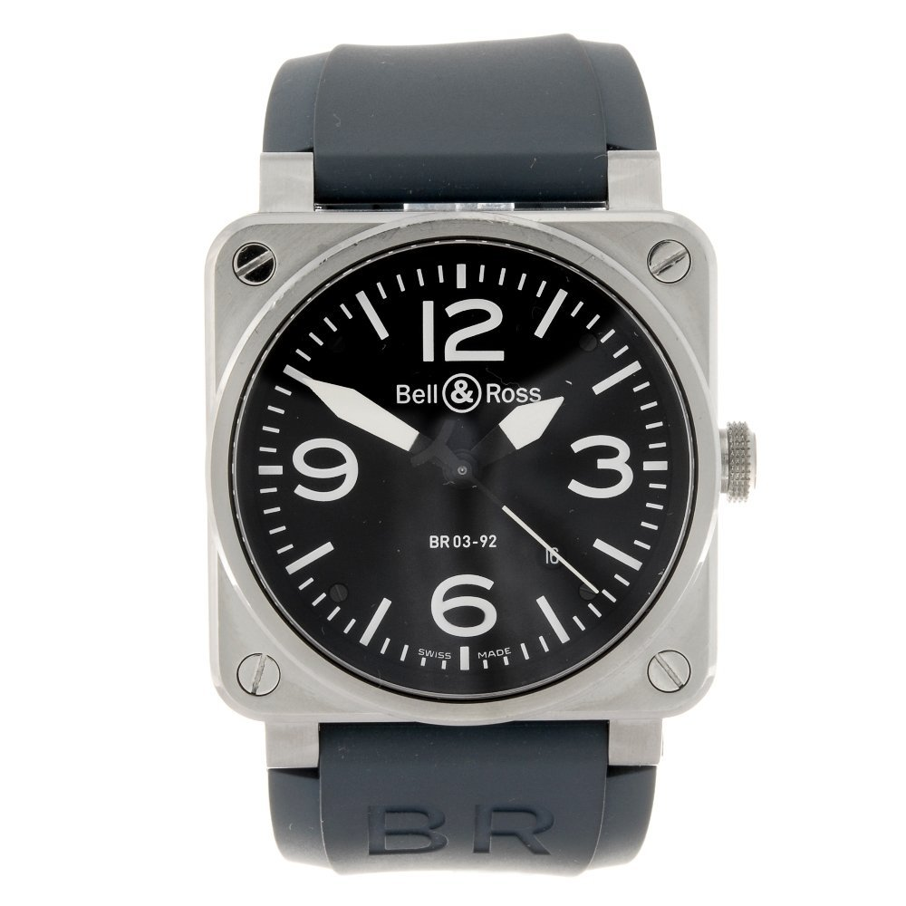 A stainless steel automatic gentleman's Bell & Ross