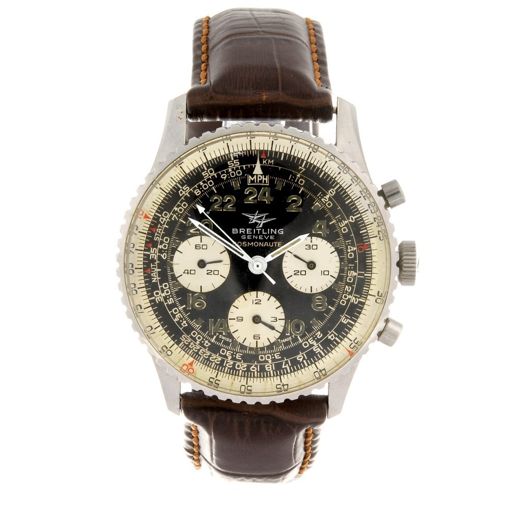 A stainless steel manual wind chronograph gentleman's