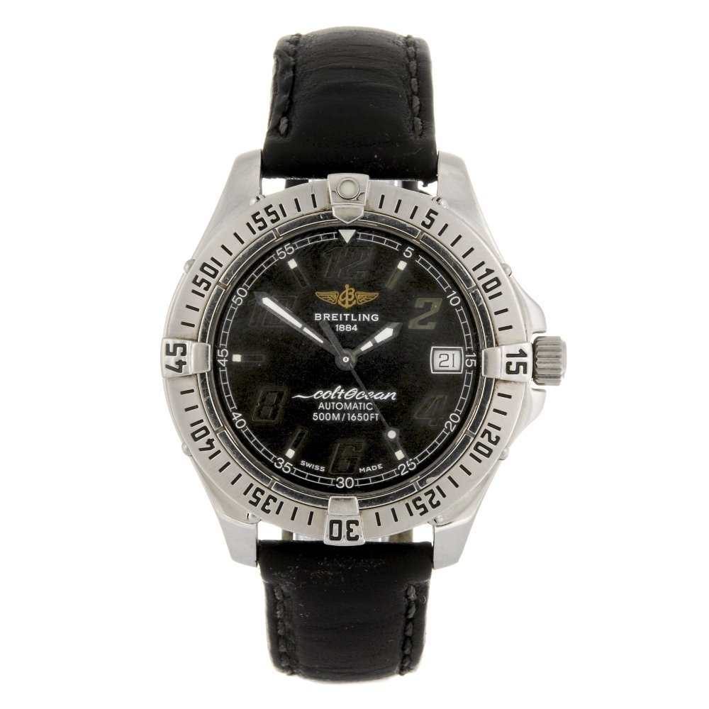 (926006269) A stainless steel automatic gentleman's
