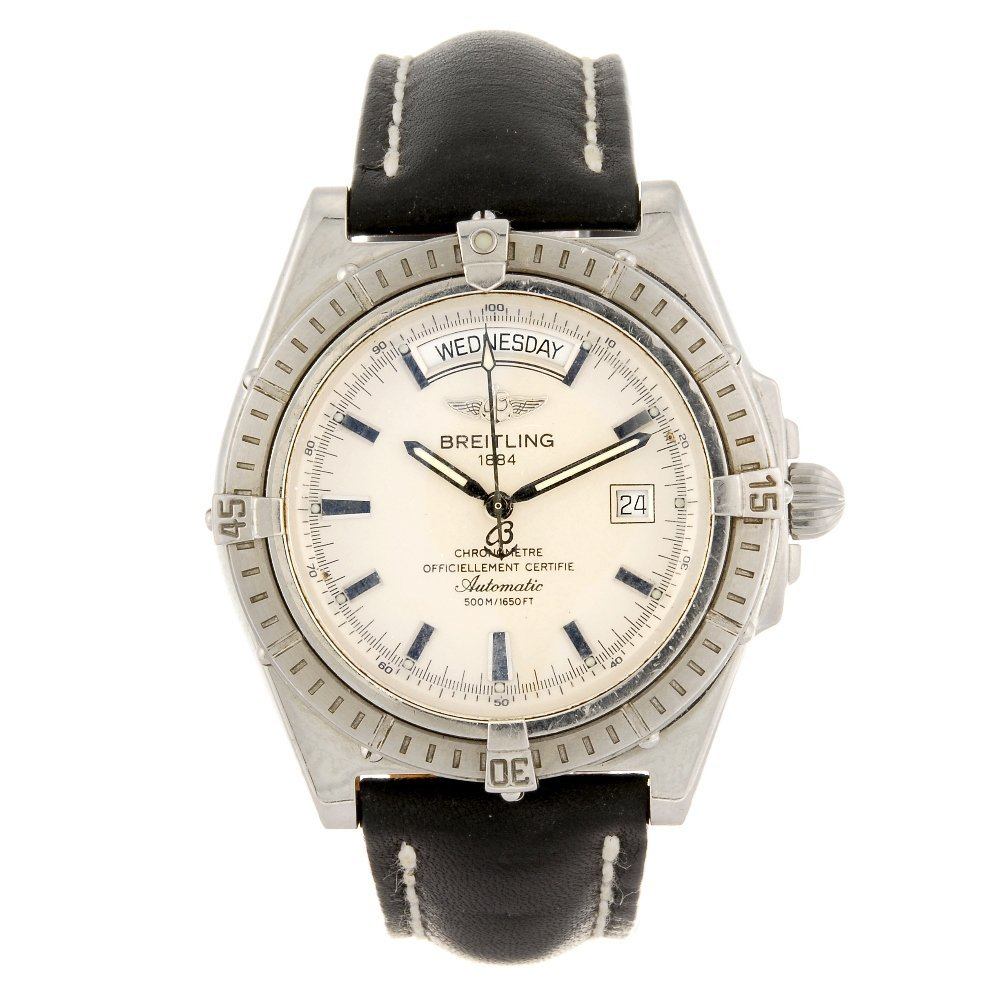 (955001581) A stainless steel automatic gentleman's