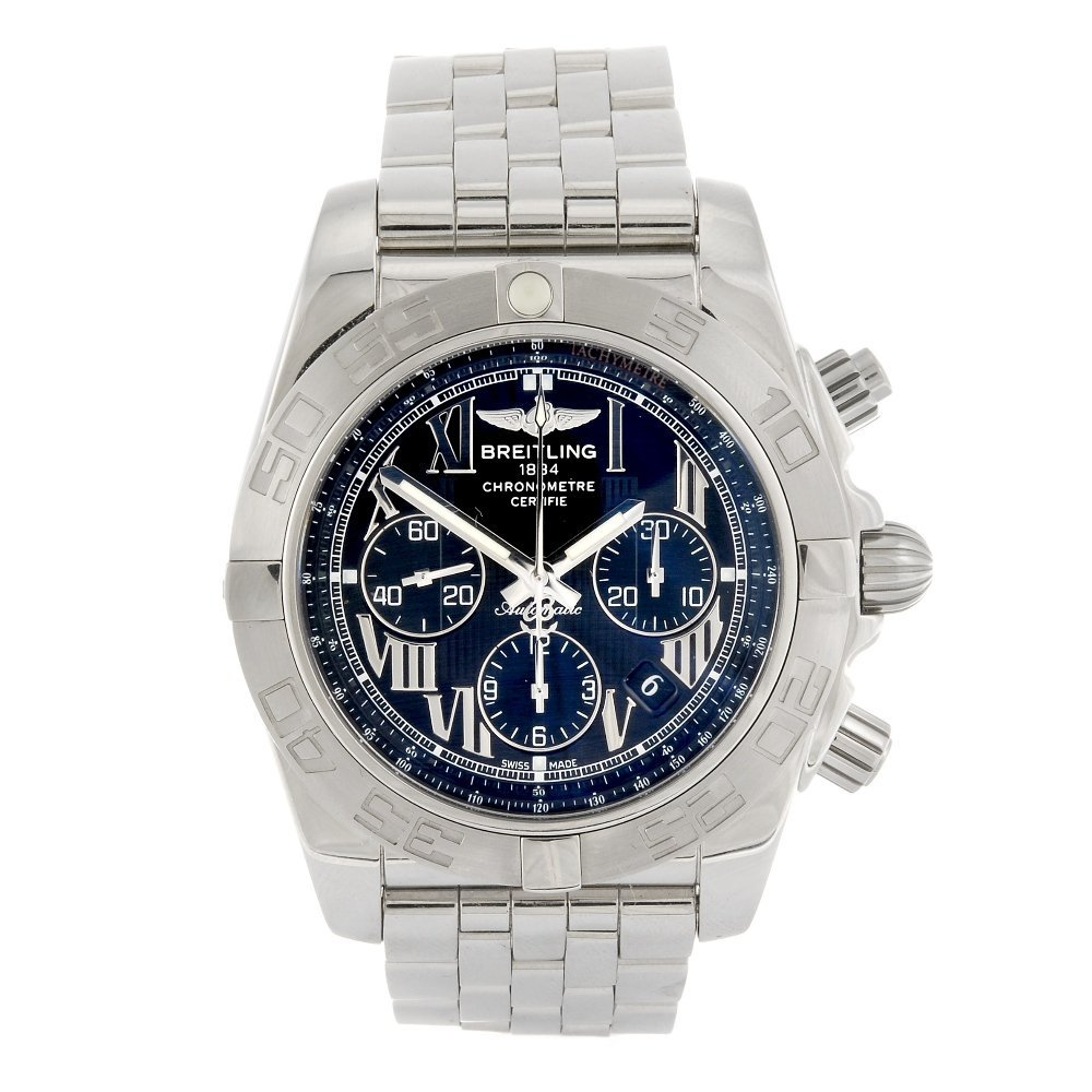 (984001286) A stainless steel automatic chronograph