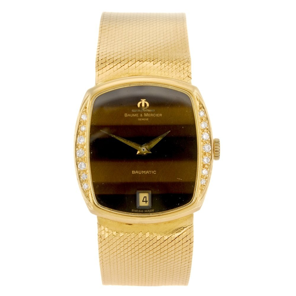 An 18ct gold automatic gentleman's Baume & Mercier