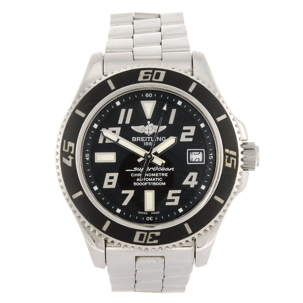 (907007919) A stainless steel automatic gentleman's