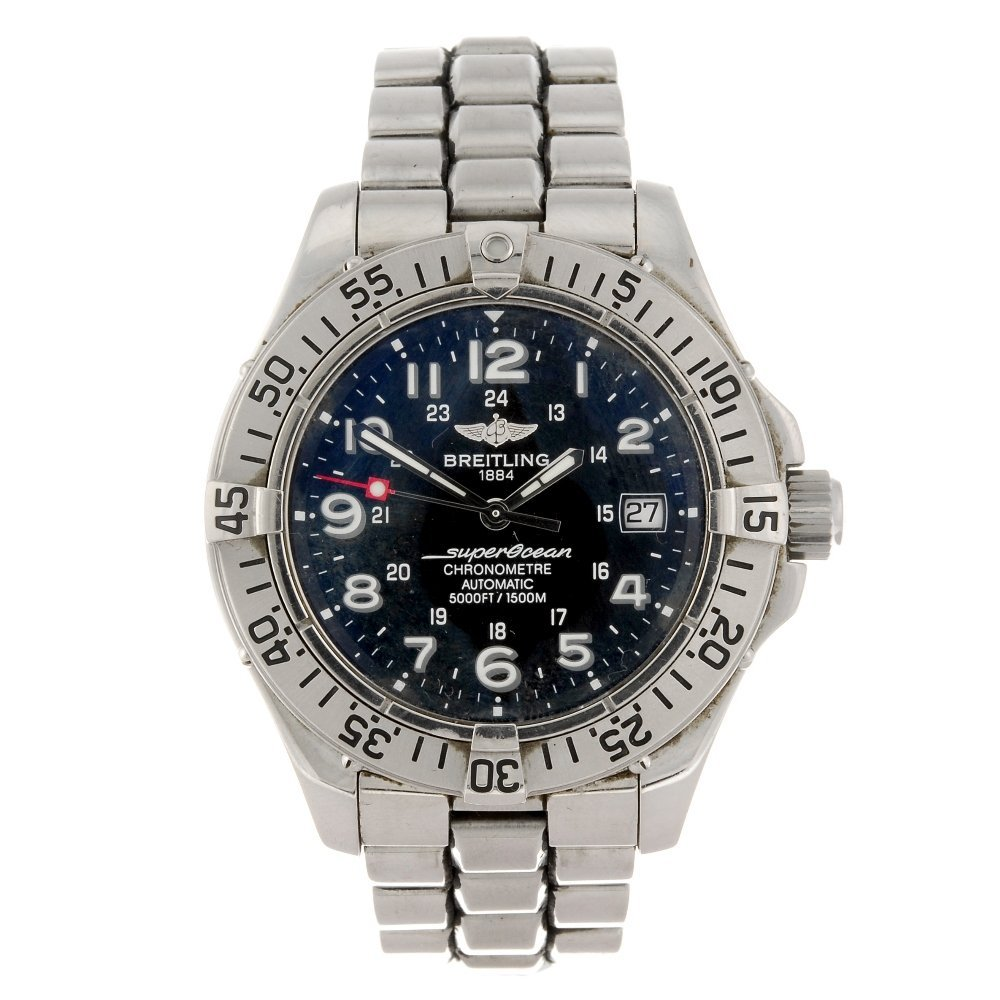 (128742) A stainless steel automatic gentleman's Breitl