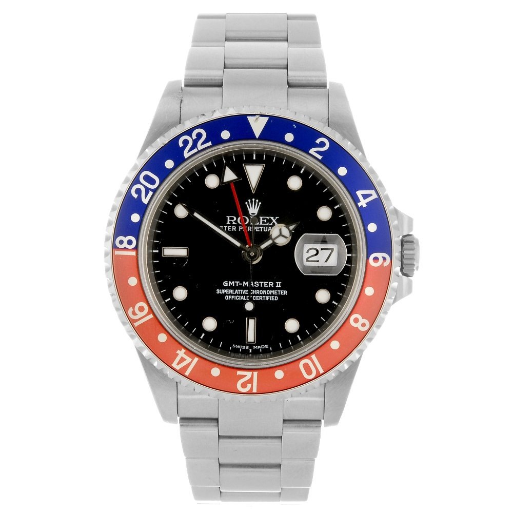 (133138) A stainless steel automatic gentleman's Rolex