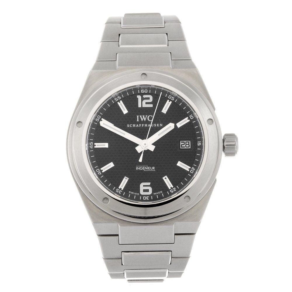 IWC - a gentleman's Ingenieur bracelet watch.