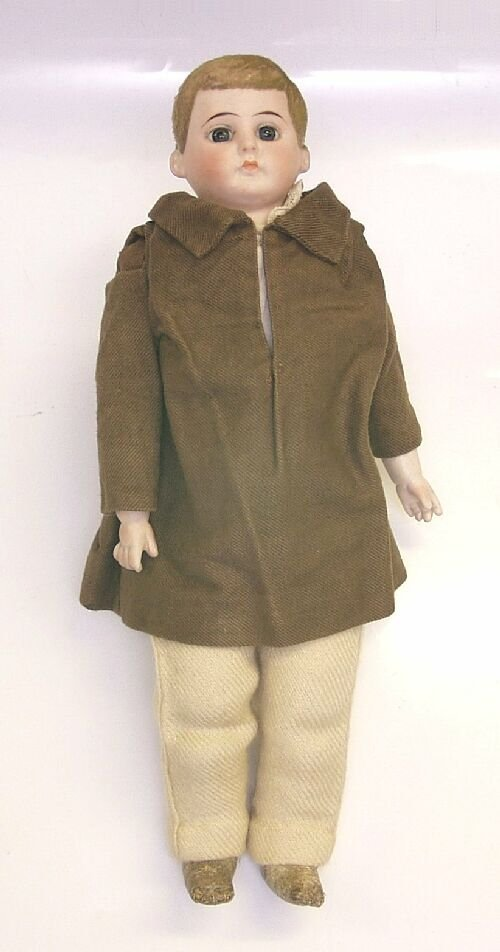 96: A bisque doll in the manner of Kling, mod