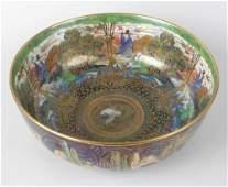 A Wedgwood 'Fairyland lustre' Daisy Makeig Jones bowl