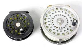 Two fly fishing reels to include a Marquis Salmon No. 2