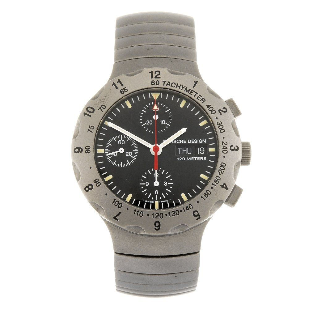 PORSCHE DESIGN - a gentleman's P10 chronograph bracelet