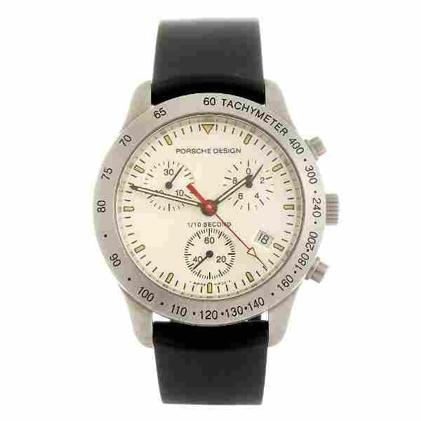 PORSCHE DESIGN - a gentleman's Dashboard chronograph wr